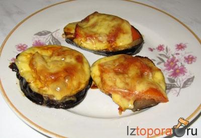 Баклажаны, запеченые под сыром