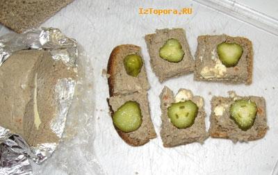 Будерброд с паштетом