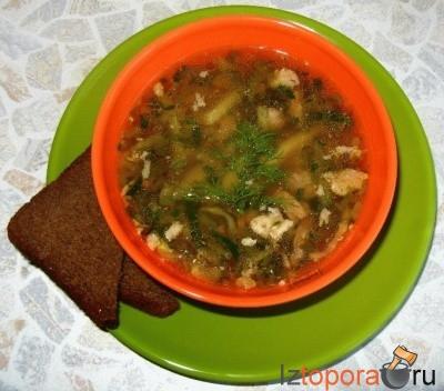 Суп в японском стиле