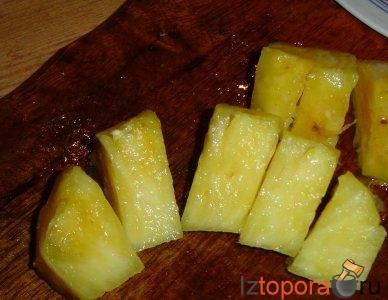 Говядина с ананасом по-итальянски