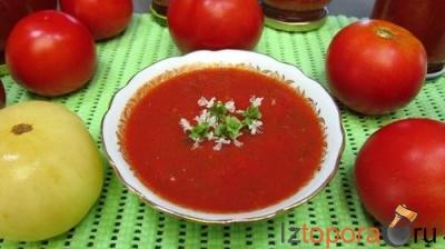 Томатный соус с василиской