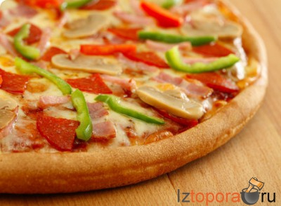 Итальянская пицца от шеф-повара