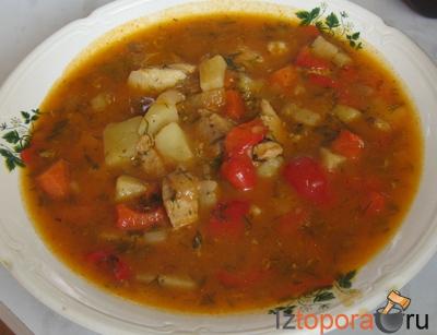 Суп-гуляш по-венгерски