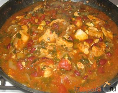 горячее блюдо из курицы рецепты #14