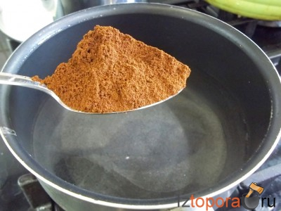 Десертное желе – клубника, кофе, сметана